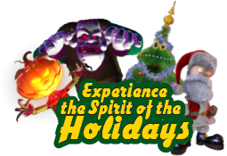Experience the Spirit of the Holidays Year Round